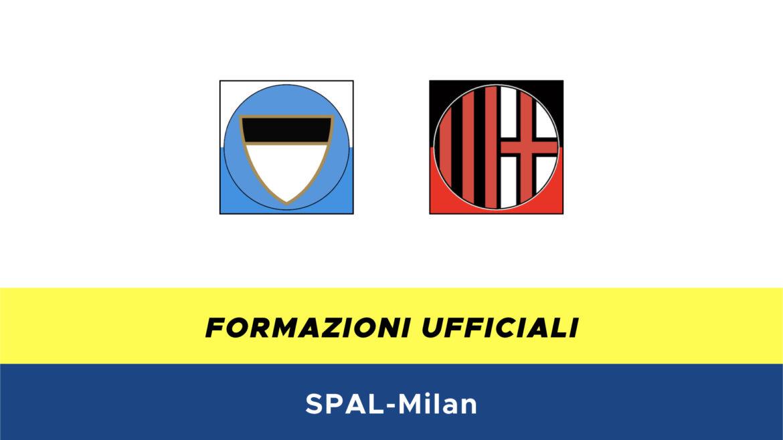 SPAL-Milan formazioni ufficiali