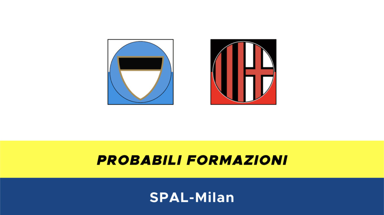 SPAL-Milan probabili formazioni