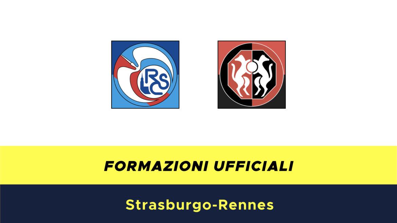 Strasburgo-Rennes formazioni ufficiali