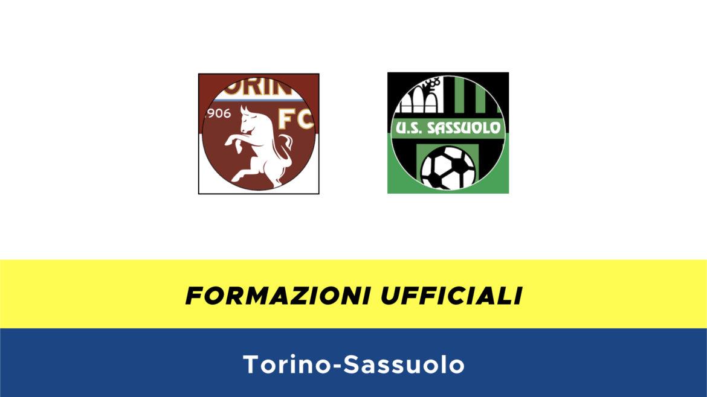 Torino-Sassuolo formazioni ufficiali