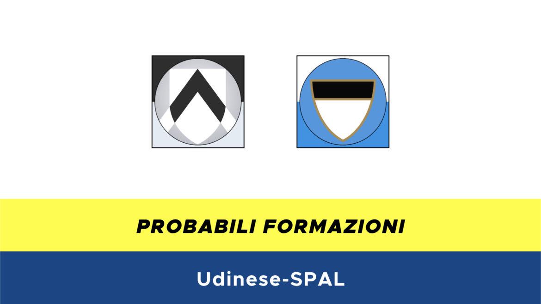 Udinese-SPAL probabili formazioni