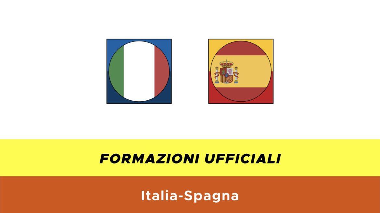 Italia-Spagna under 21 formazioni ufficiali
