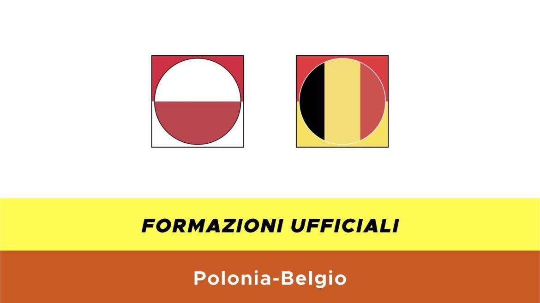 Polonia-Belgio under 21 formazioni ufficiali