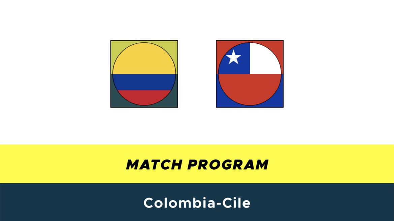 Colombia-Cile probabili formazioni