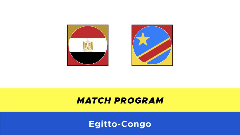 Egitto-Congo probabili formazioni
