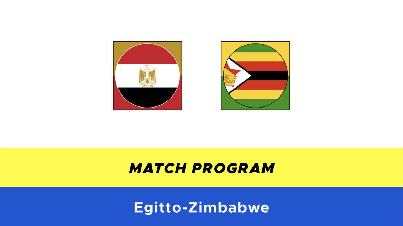 Egitto-Zimbabwe probabili formazioni