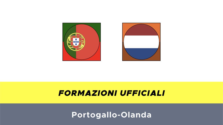 Portogallo-Olanda formazioni ufficiali