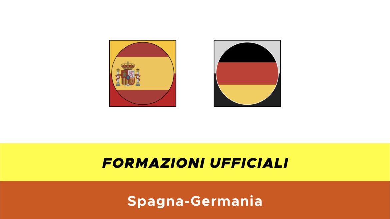 Spagna-Germania under 21 formazioni ufficiali
