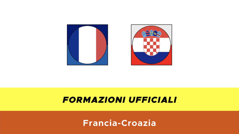 Francia-Croazia under 21 formazioni ufficiali