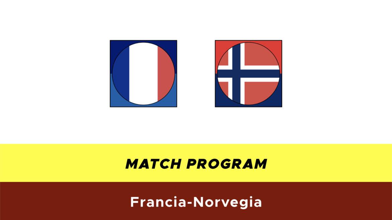 Francia-Norvegia probabili formazioni