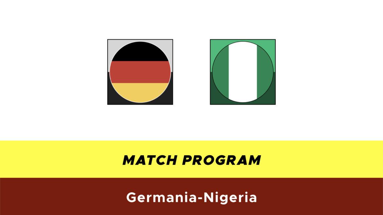 Germania-Nigeria probabili formazioni