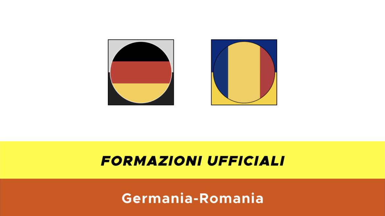 Germania-Romania under 21 formazioni ufficiali