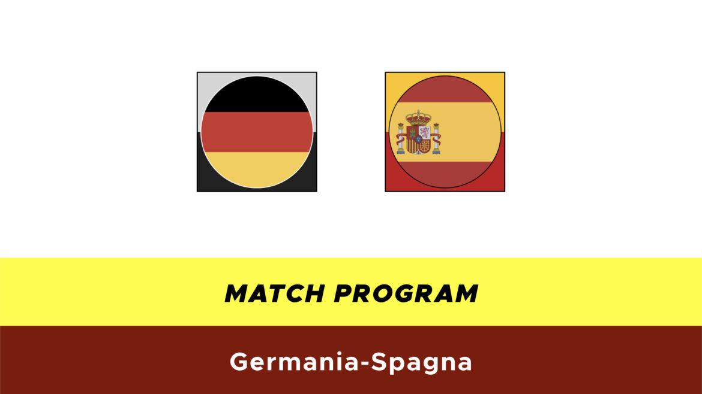 Germania-Spagna probabili formazioni