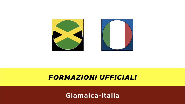 Giamaica-Italia formazioni ufficiali