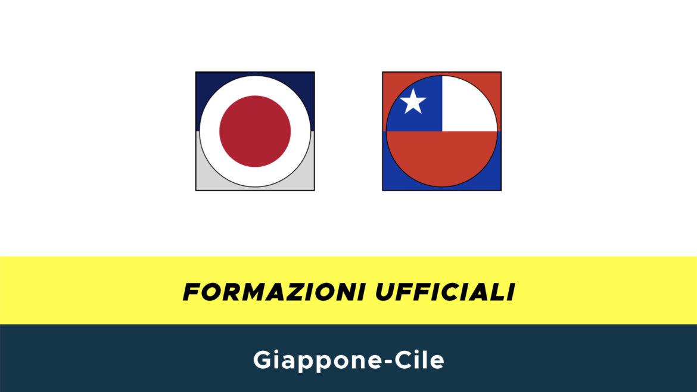 Giappone-Cile formazioni ufficiali