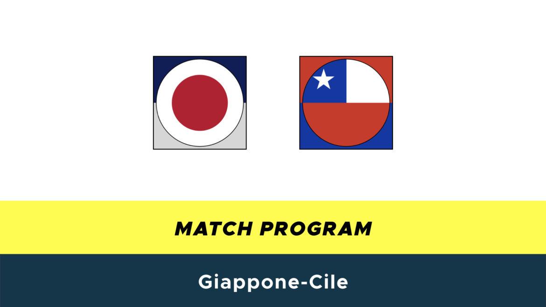 Giappone-Cile probabili formazioni