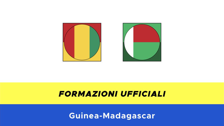 Guinea-Madagascar formazioni ufficiali