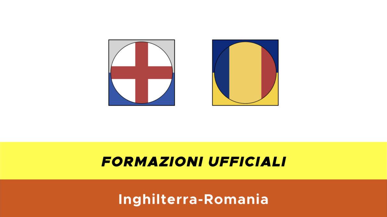 Inghilterra-Romania under 21 formazioni ufficiali