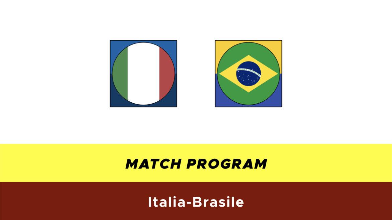 Italia-Brasile probabili formazioni
