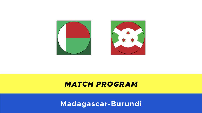 Madagascar-Burundi probabili formazioni