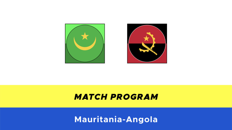 Mauritania-Angola probabili formazioni