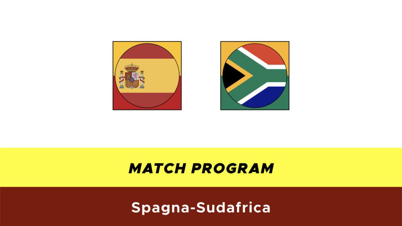Spagna-Sudafrica probabili formazioni