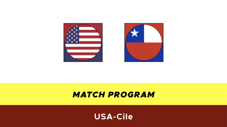 USA-Cile probabili formazioni