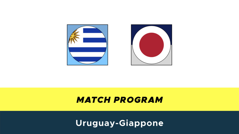 Uruguay-Giappone probabili formazioni