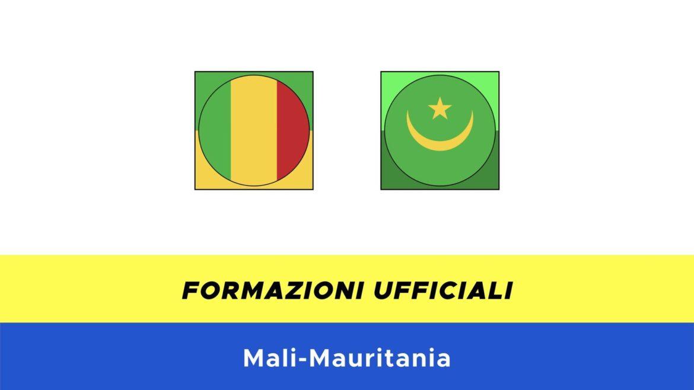 Mali-Mauritania formazioni ufficiali
