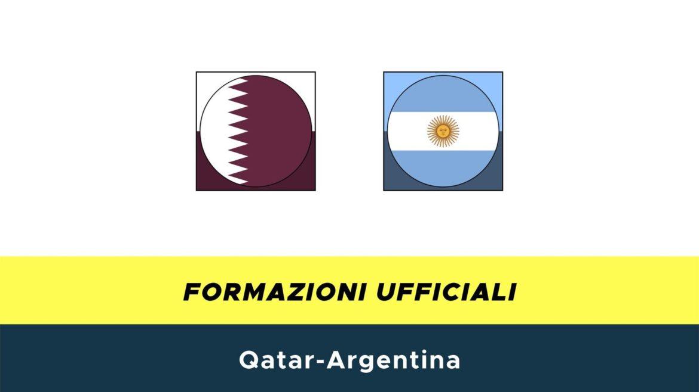 Qatar-Argentina formazioni ufficiali
