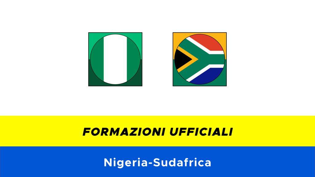 Nigeria-Sudafrica: formazioni ufficiali