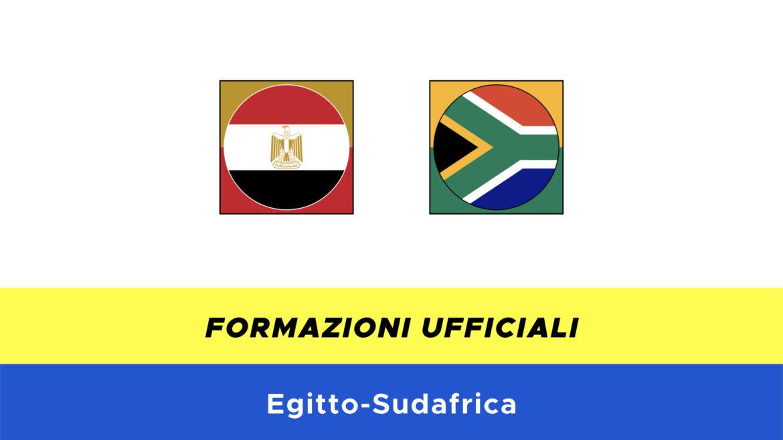 Egitto-Sudafrica: formazioni ufficiali