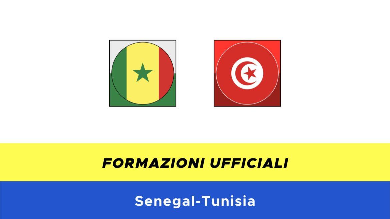 Senegal-Tunisia: formazioni ufficiali