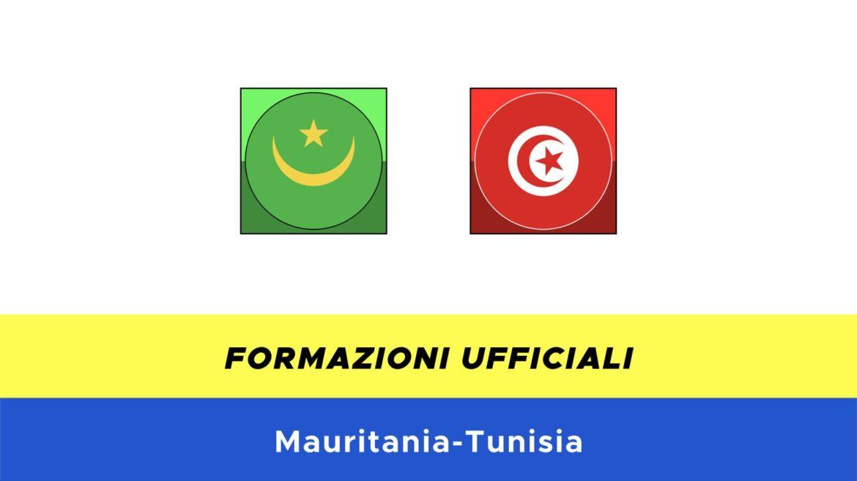 Mauritania-Tunisia: formazioni ufficiali