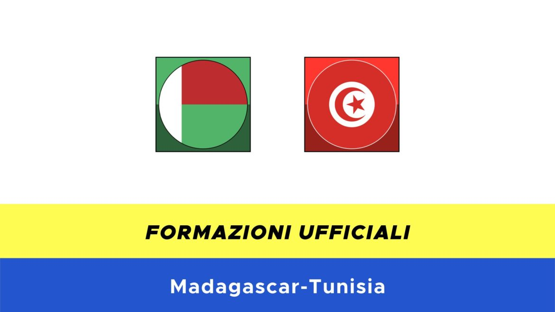 Madagascar-Tunisia: formazioni ufficiali