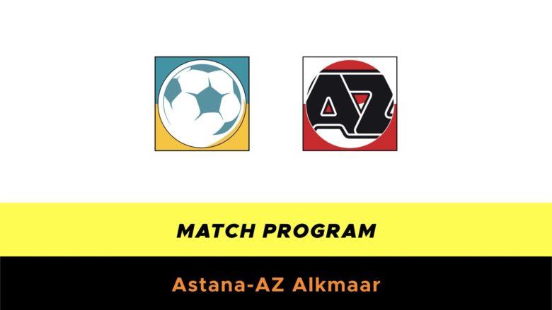 Astana-AZ probabili formazioni