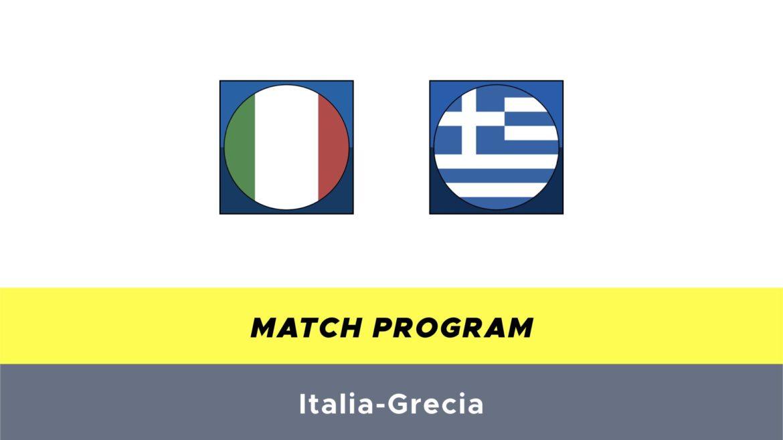Italia-Grecia probabili formazioni