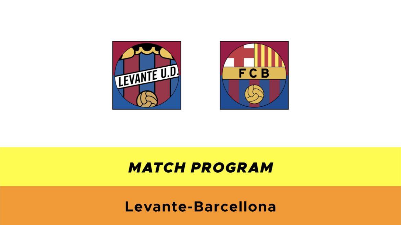Levante-Barcellona probabili formazioni