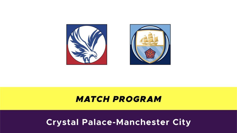 Crystal Palace-Manchester City probabili formazioni