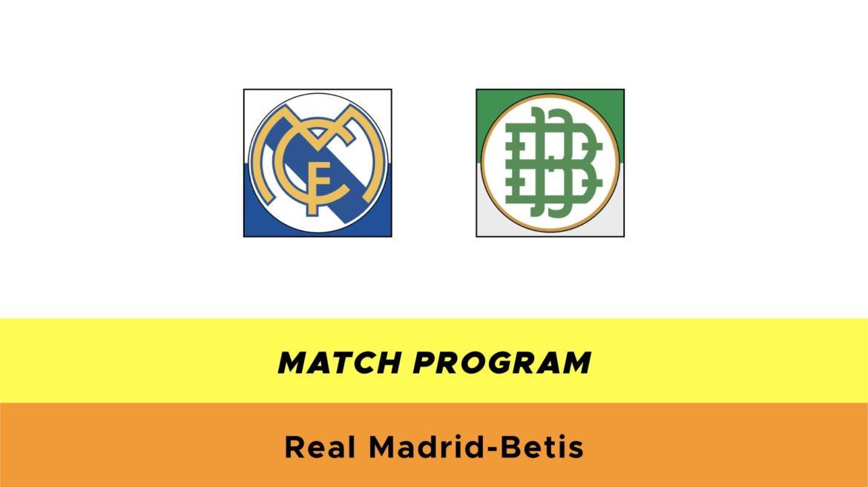 Real Madrid-Betis probabili formazioni