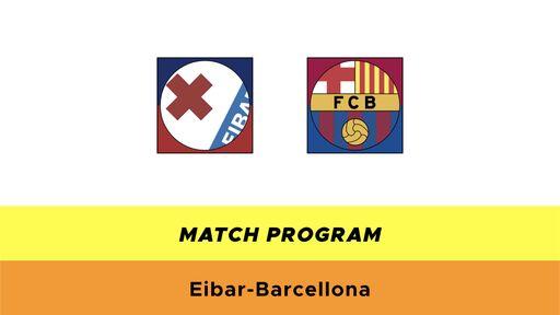 Eibar-Barcellona probabili formazioni