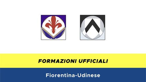 Fiorentina-Udinese formazioni ufficiali
