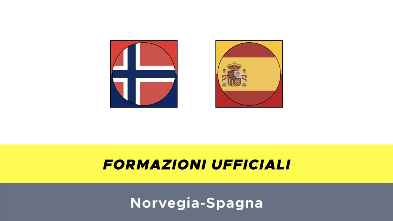 Norvegia-Spagna probabili formazioni
