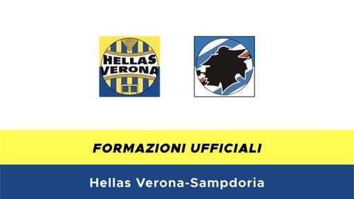 Hellas Verona-Sampdoria formazioni ufficiali
