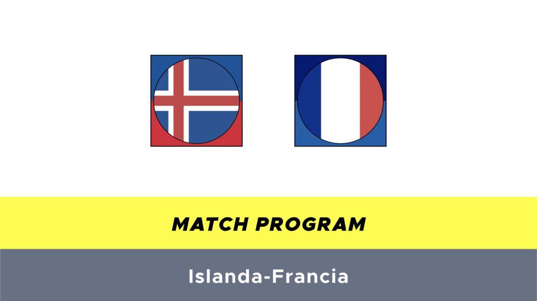 Islanda-Francia probabili formazioni