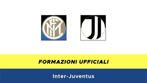 Inter-Juventus formazioni ufficiali