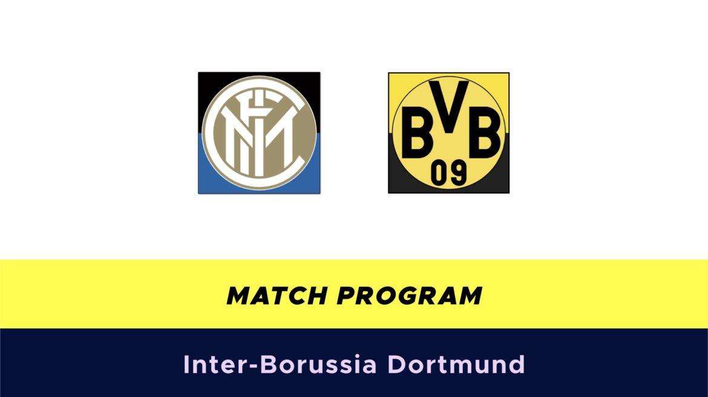 Inter-Borussia Dortmund probabili formazioni