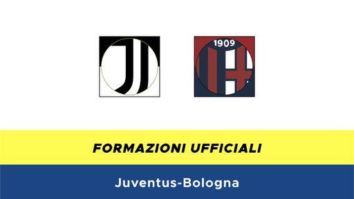Juventus-Bologna formazioni ufficiali