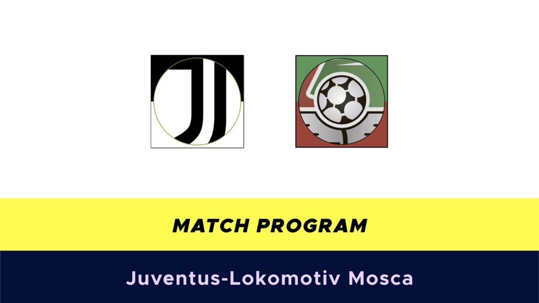 Juventus-Lokomotiv Mosca probabili formazioni