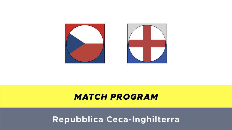 Repubblica Ceca-Inghilterra probabili formazioni